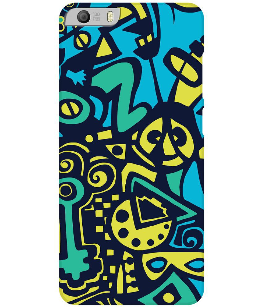 Micromax Canvas Knight 2 E471 Printed Cover By SWANK THE NEW SWAG