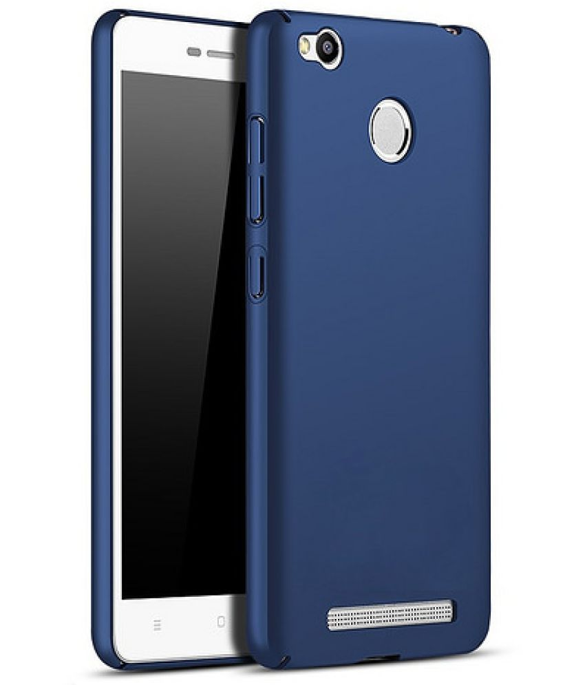 separation shoes dff01 9068c Xiaomi Redmi 3s Prime Plain Cases Wow Imagine - Blue