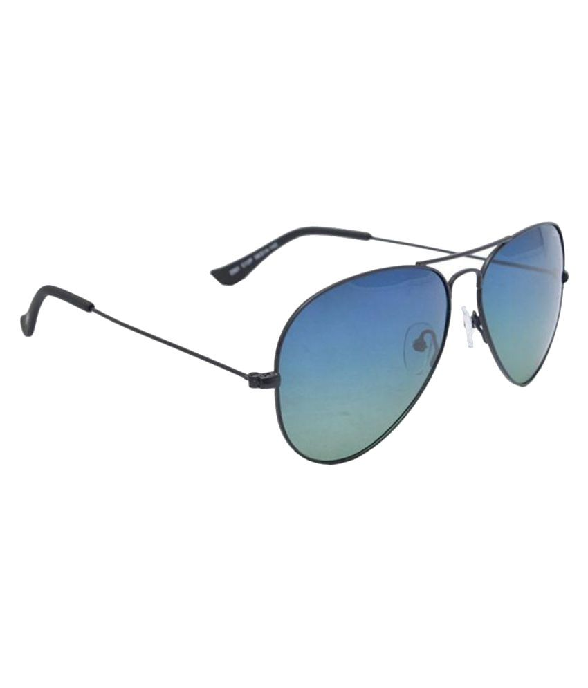 cf54ec5cf9a Idee Blue Aviator Sunglasses ( S2001-C12P-58 ) - Buy Idee Blue Aviator  Sunglasses ( S2001-C12P-58 ) Online at Low Price - Snapdeal