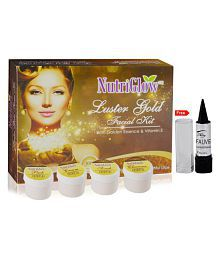 Nutriglow Luster Gold Facial Kit Cleanser 55 gm
