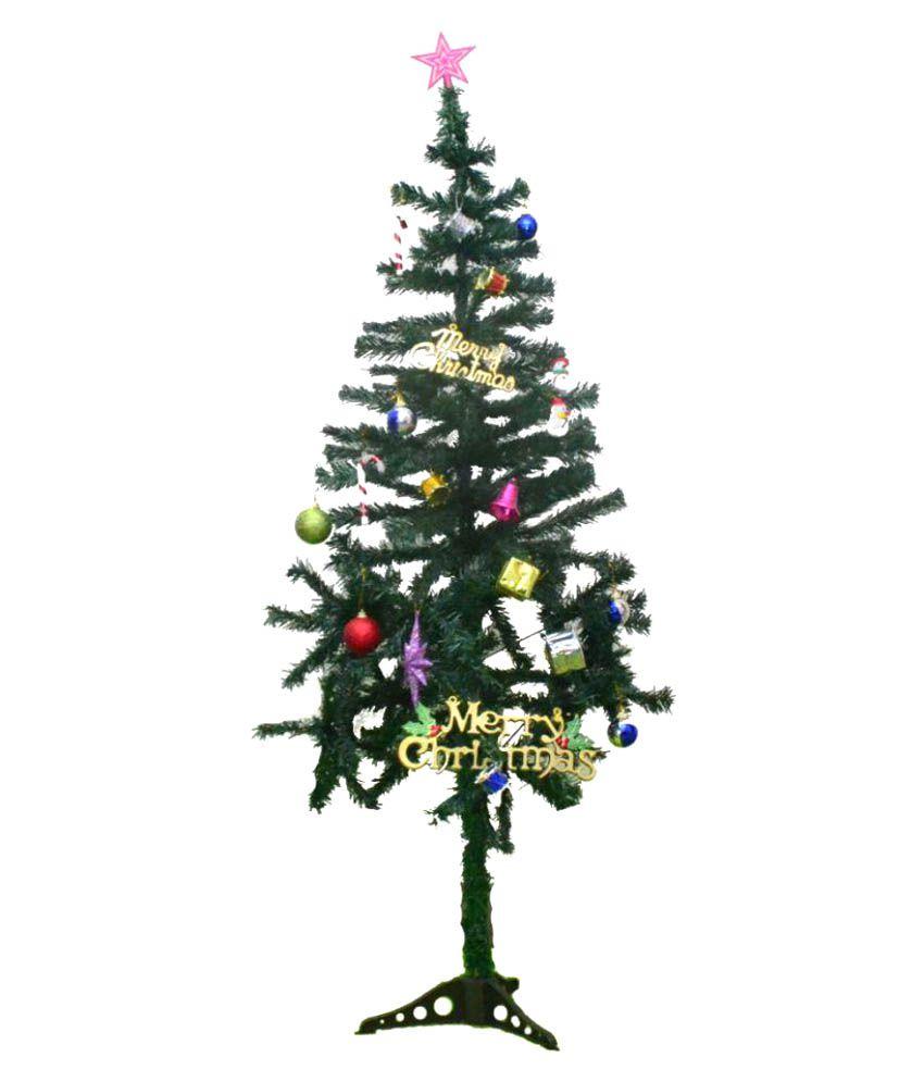 Buy Christmas Tree India: Bandekar Alloy Christmas Tree Multicolour-5 Ft- (Pack Of 1