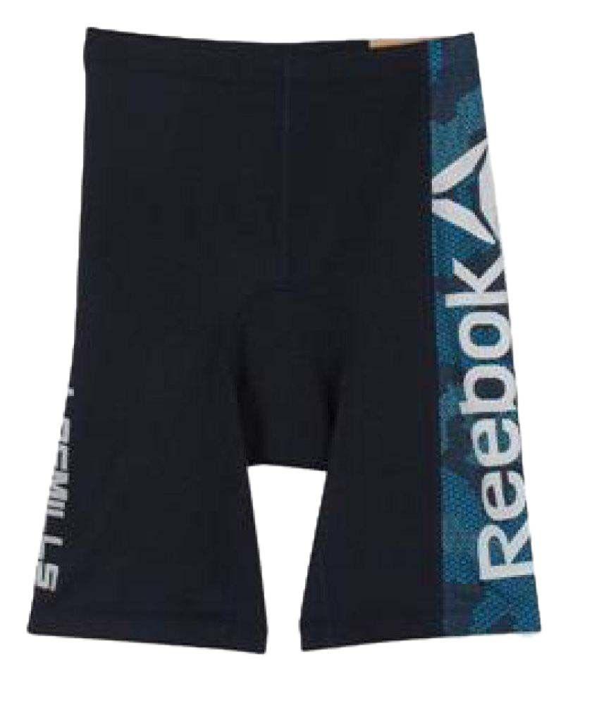 Reebok Navy Lycra Shorts