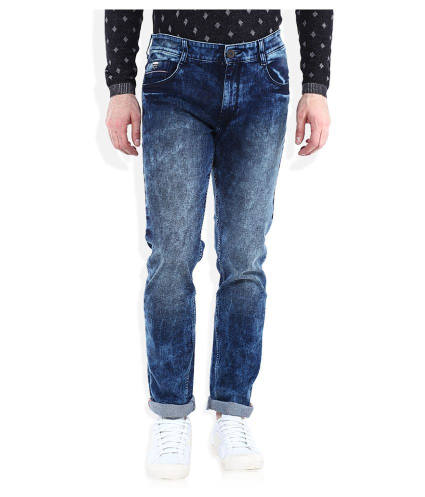 John Players Blue Slim Jeans