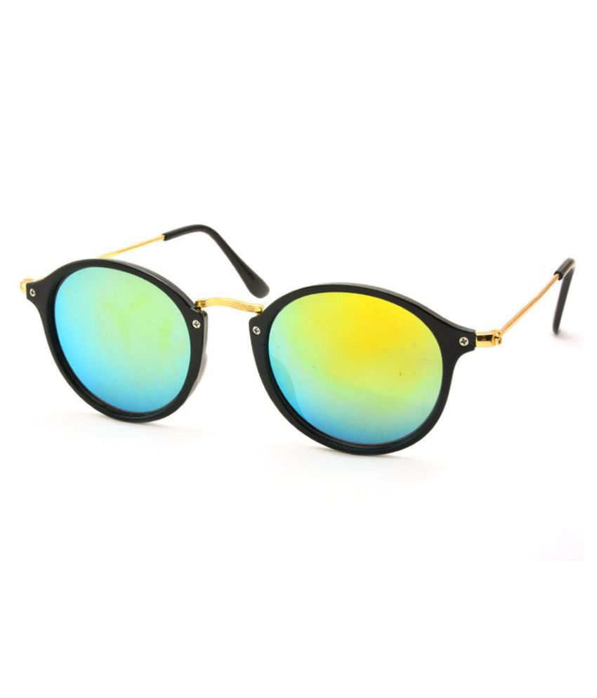 Stacle Multicolor Round Sunglasses ( ST8508 )