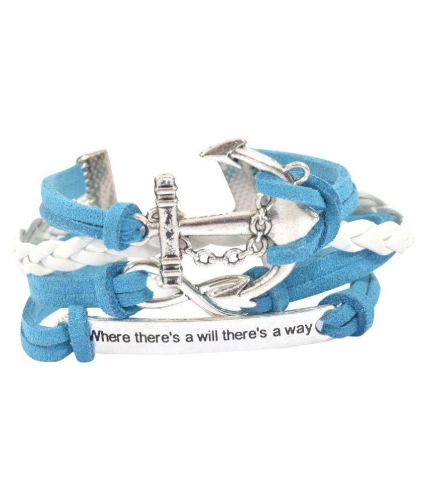 Diovanni Multi Color Alloy Bracelet