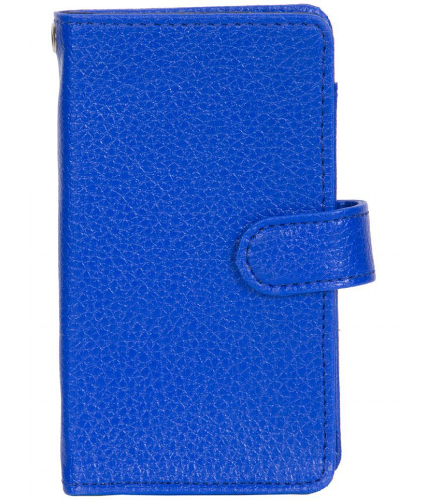 Lava A48 Holster Cover by Senzoni - Blue