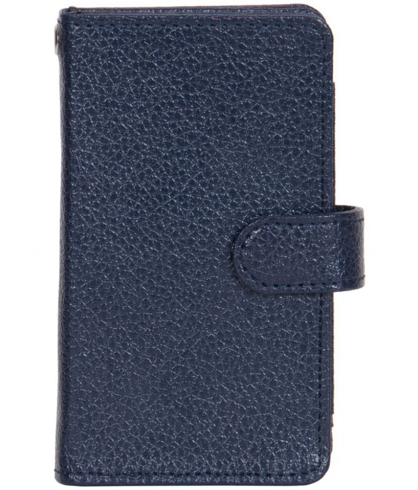 Karbonn A21+ Holster Cover by Senzoni - Blue
