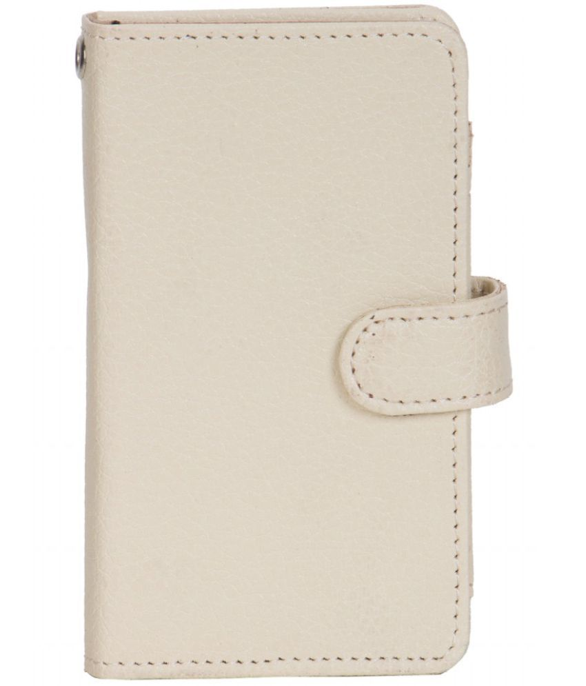 Karbonn Titanium S200HD Holster Cover by Senzoni - White