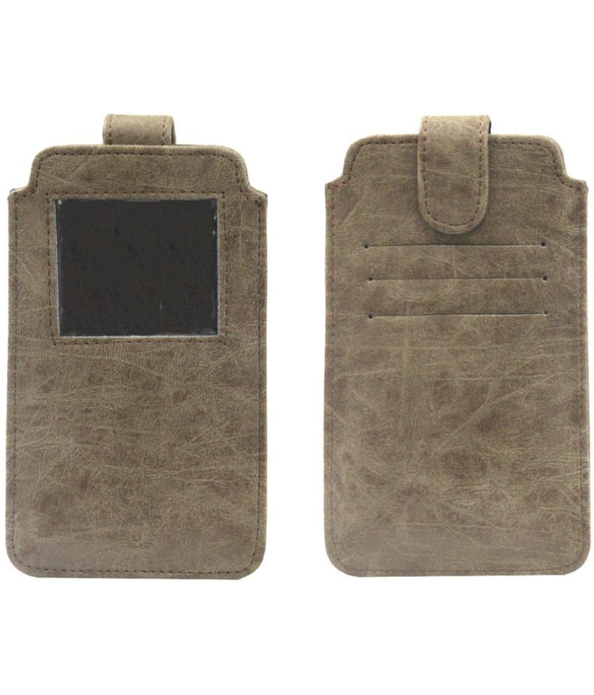 Elephone G6 Holster Cover by Jojo - Brown