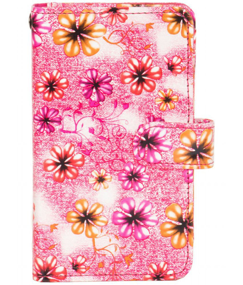Huawei Ascend P1 Holster Cover by Senzoni - Pink