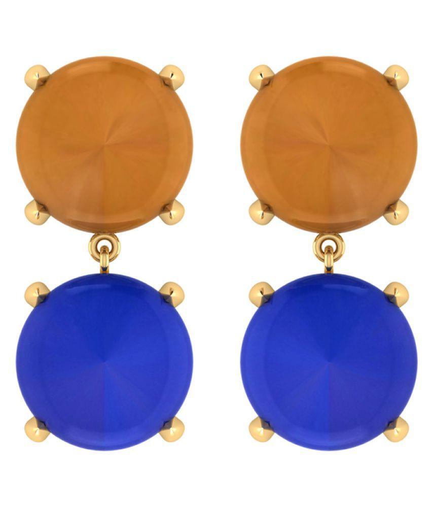 Voylla Multi Drop Earrings