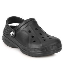 Crocs Black Relaxed Clog