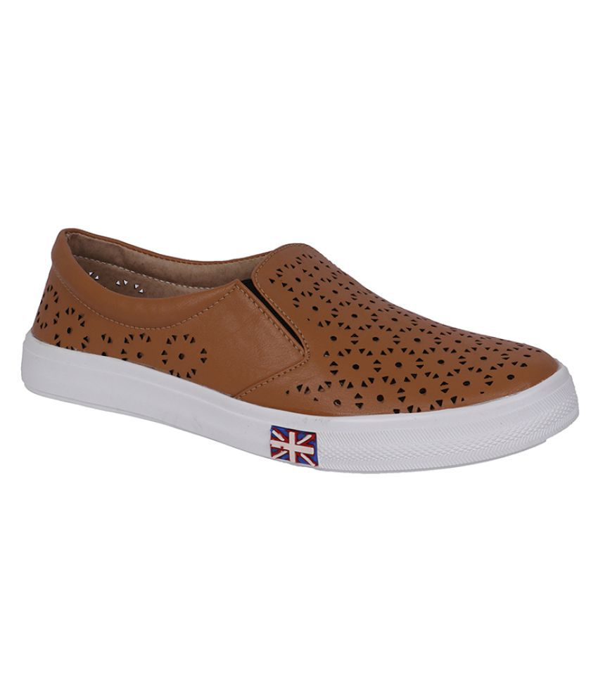 Stylish Step Brown Sneakers