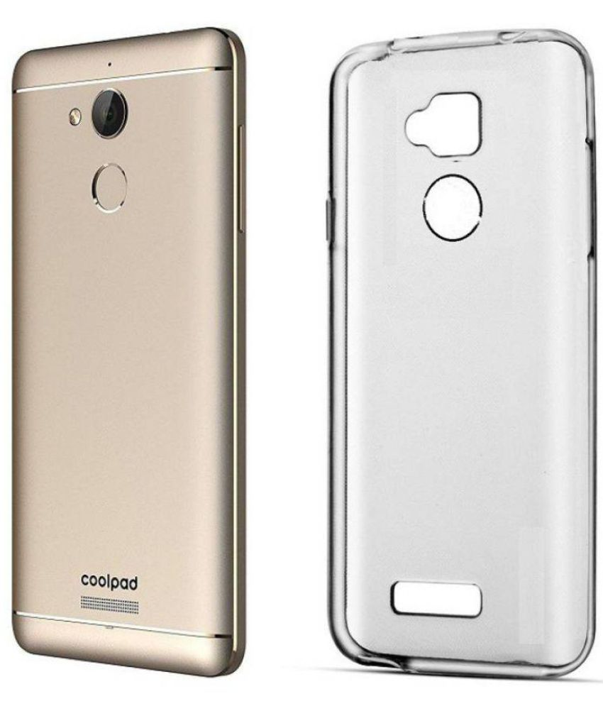 sale retailer 55b26 8b9a5 Coolpad Note 5 Cover by Mobi Universal Store - Transparent - Plain ...