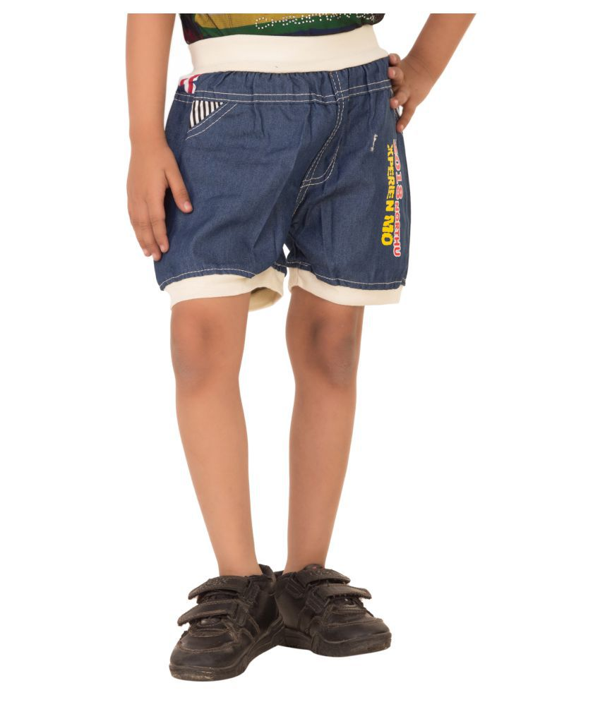 MDS Jeans Blue Denim Shorts for Girls
