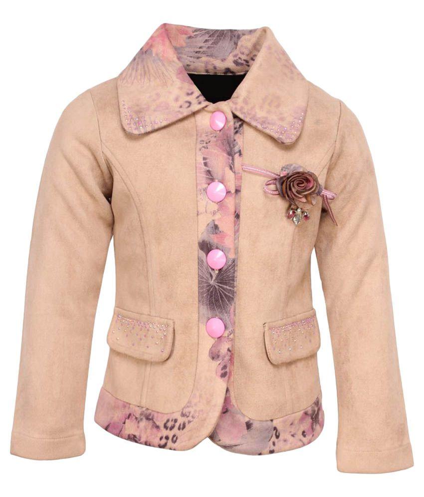 Cutecumber Beige Polyester Coat