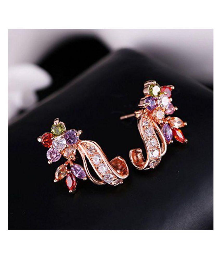 318727352bd Jewels Galaxy Multicolour Stud Earrings Jewels Galaxy Multicolour Stud  Earrings ...