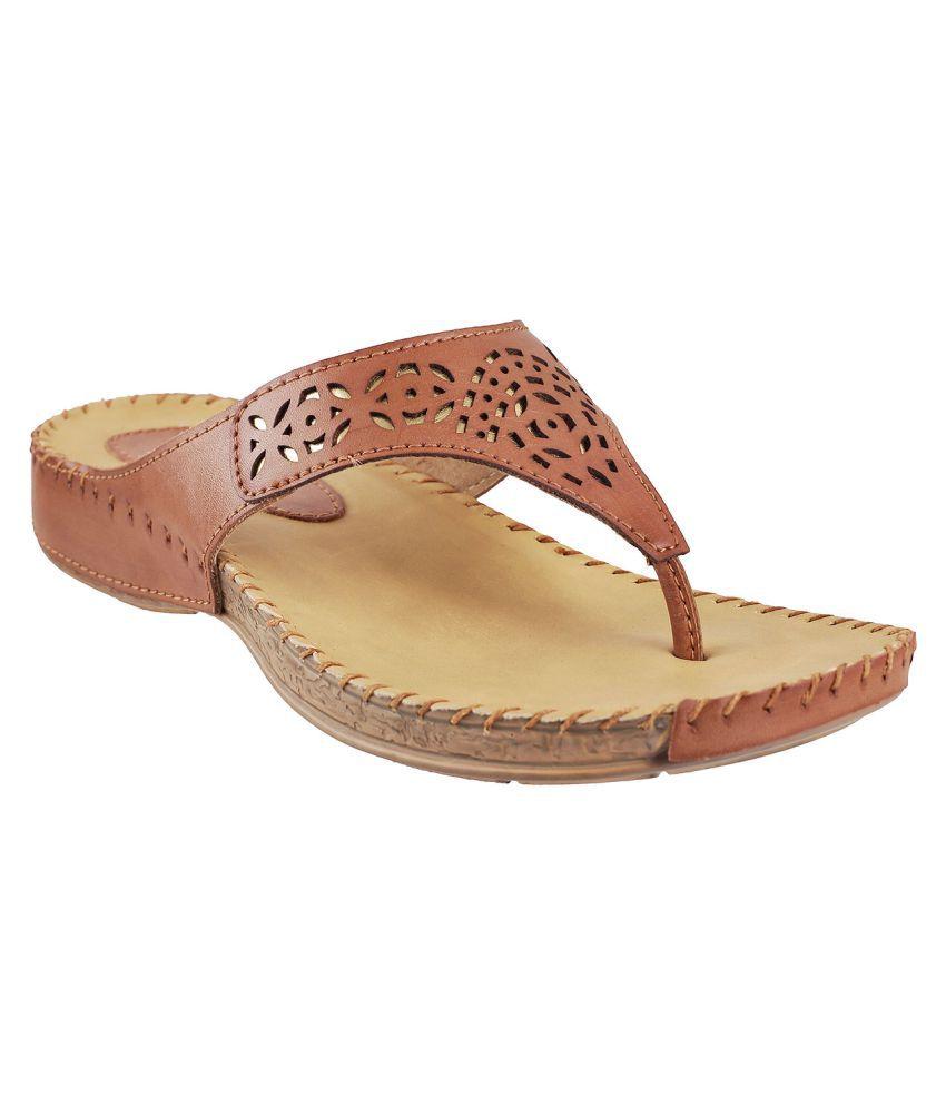 Metro Tan Wedges Heels