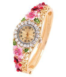 Jewels Galaxy Luxuria Women Bracelet Fashion Gold Plated Wedding/Party Bracelet