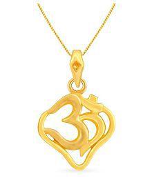 Malabar Gold And Diamonds 22k Gold Pendant - 640177316275