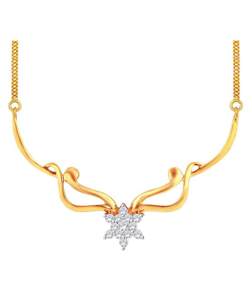 Maya Diamonds 18k BIS Hallmarked Yellow Gold Necklace