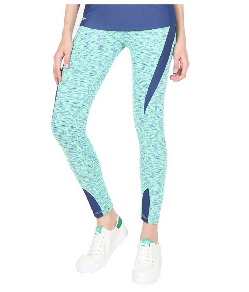 Yogue Green Leggings