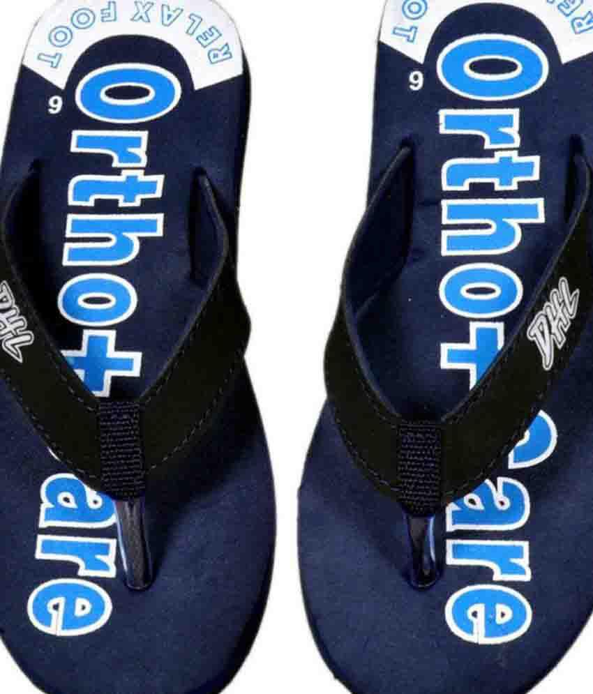 330e555b56e Orthocare Blue Slippers Price in India- Buy Orthocare Blue Slippers ...