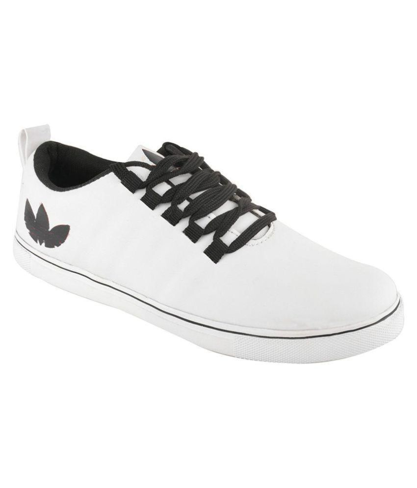 f9f68c486c1bbd Red Rose Sneakers White Casual Shoes - Buy Red Rose Sneakers White Casual  Shoes Online at Best Prices in India on Snapdeal