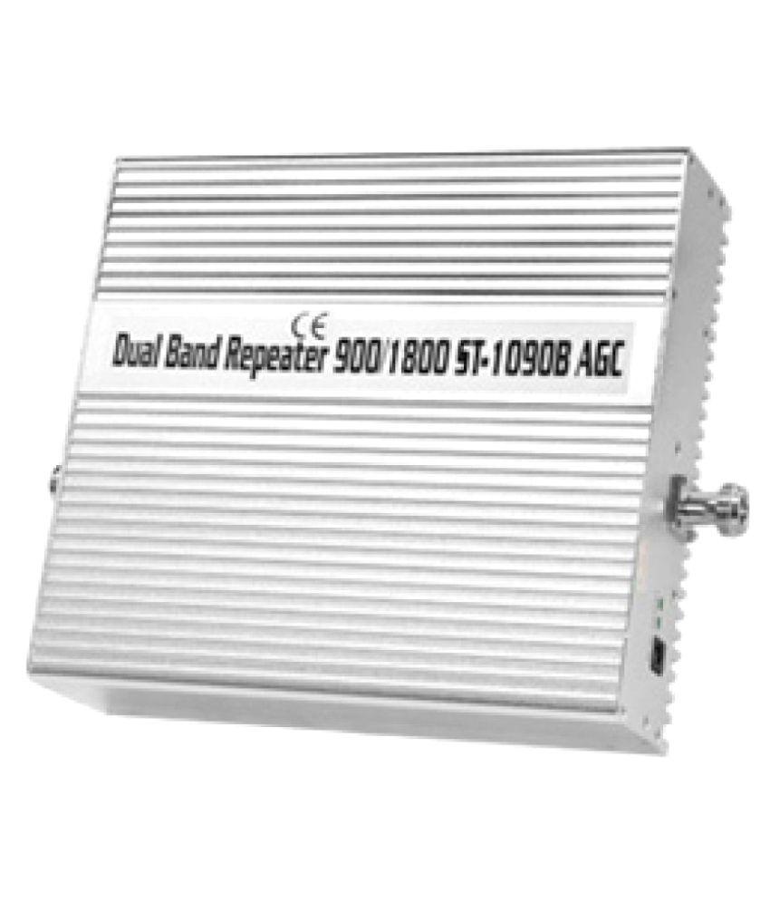 Lintratek 900-1800Mhz Dual Band Repaeter ST-1090B 3200 RJ11 White