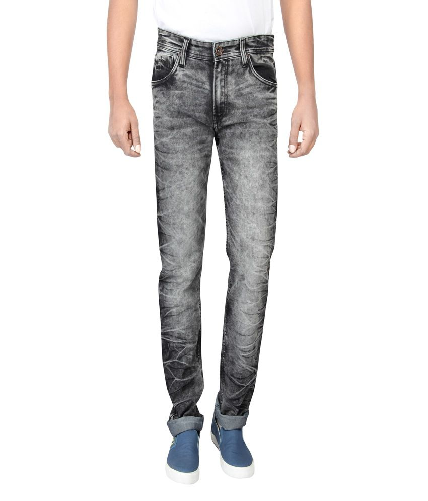 Pepe Jeans Grey Skinny Washed