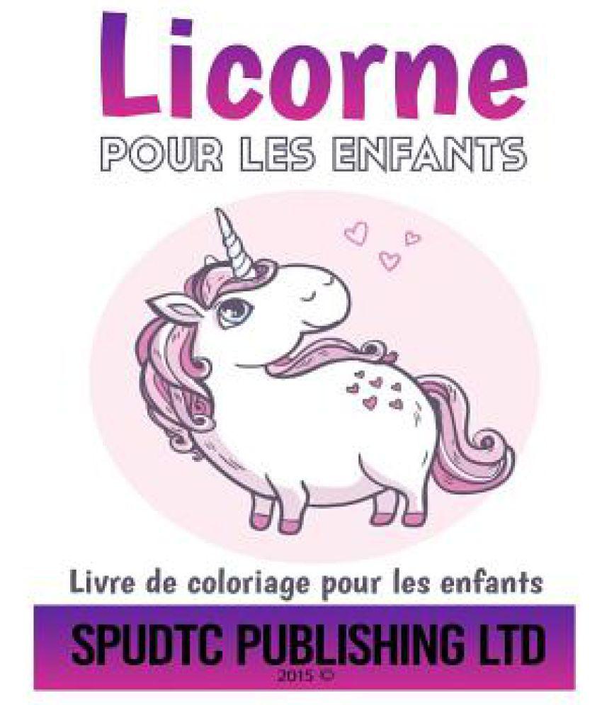 Licorne Pour Les Enfants Livre De Coloriage Pour Les Enfants