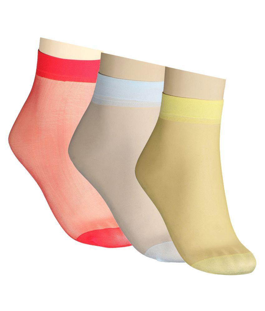 Muquam Multicolor Socks - Pack of 3