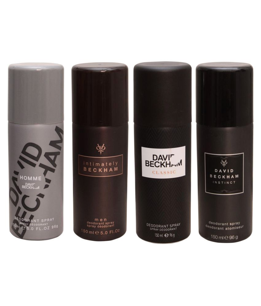 David Beckham Deodrants - Pack of 4