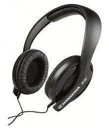 Sennheiser HD202II Over Ear Wired Headphones Without Mic Black