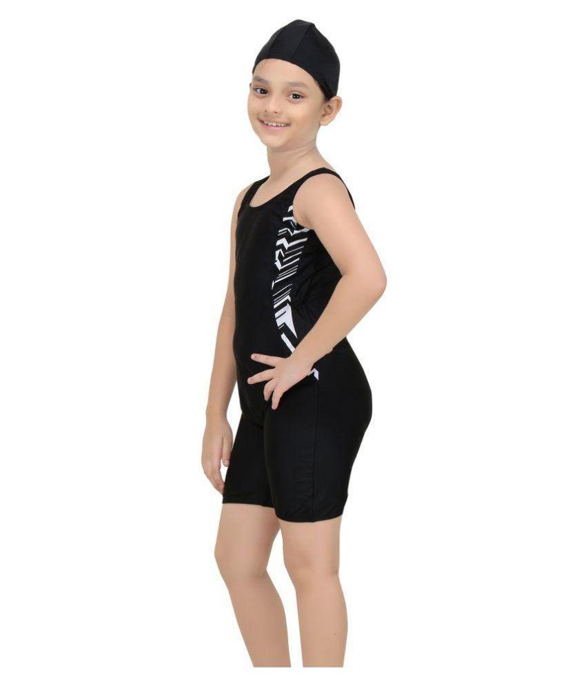 f3ffa7cd3b Fashion Fever Black Swim Suits for Girls - Buy Fashion Fever Black ...