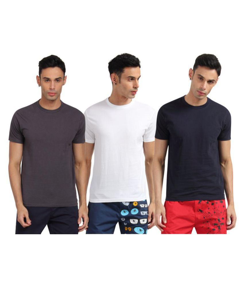 789c52e68f2 Levi s Multi T Shirts Pack of 3 - Buy Levi s Multi T Shirts Pack of 3  Online at Low Price in India - Snapdeal