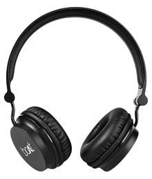 Boat Rockerz 400 Carbon On Ear Wireless Headphones With Mic Black