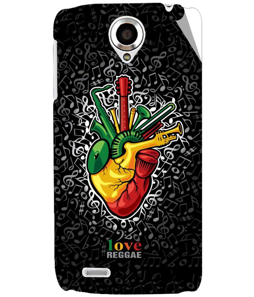 Lenovo S820 Designer Sticker by G.store