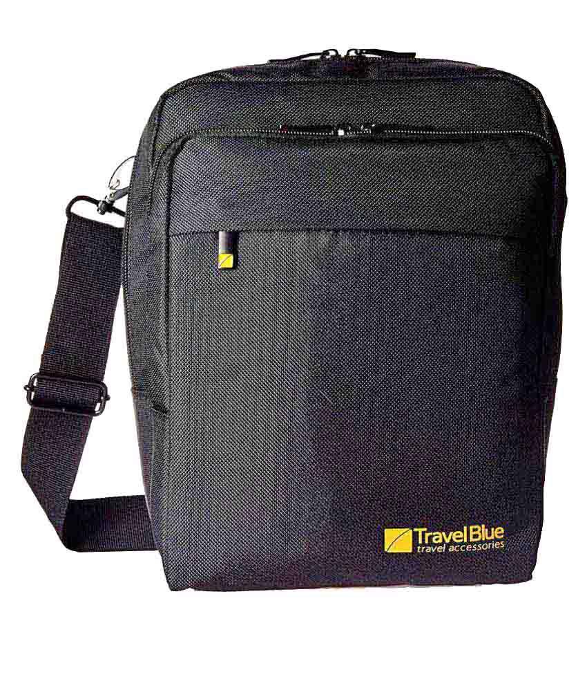 036f60fa4a92 Travel Blue Executive Bag Black Polyester Casual Messenger Bag - Buy Travel  Blue Executive Bag Black Polyester Casual Messenger Bag Online at Low Price  - ...