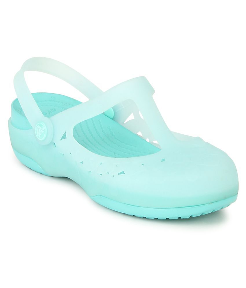 e74c6929fa78 Crocs Blue Floater Sandal Relaxed Fit Price in India- Buy Crocs Blue Floater  Sandal Relaxed Fit Online at Snapdeal