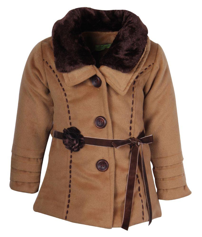 Cutecumber Brown Polyester Jacket