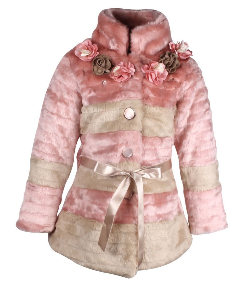 Cutecumber Multicolour Polyester Coat Single