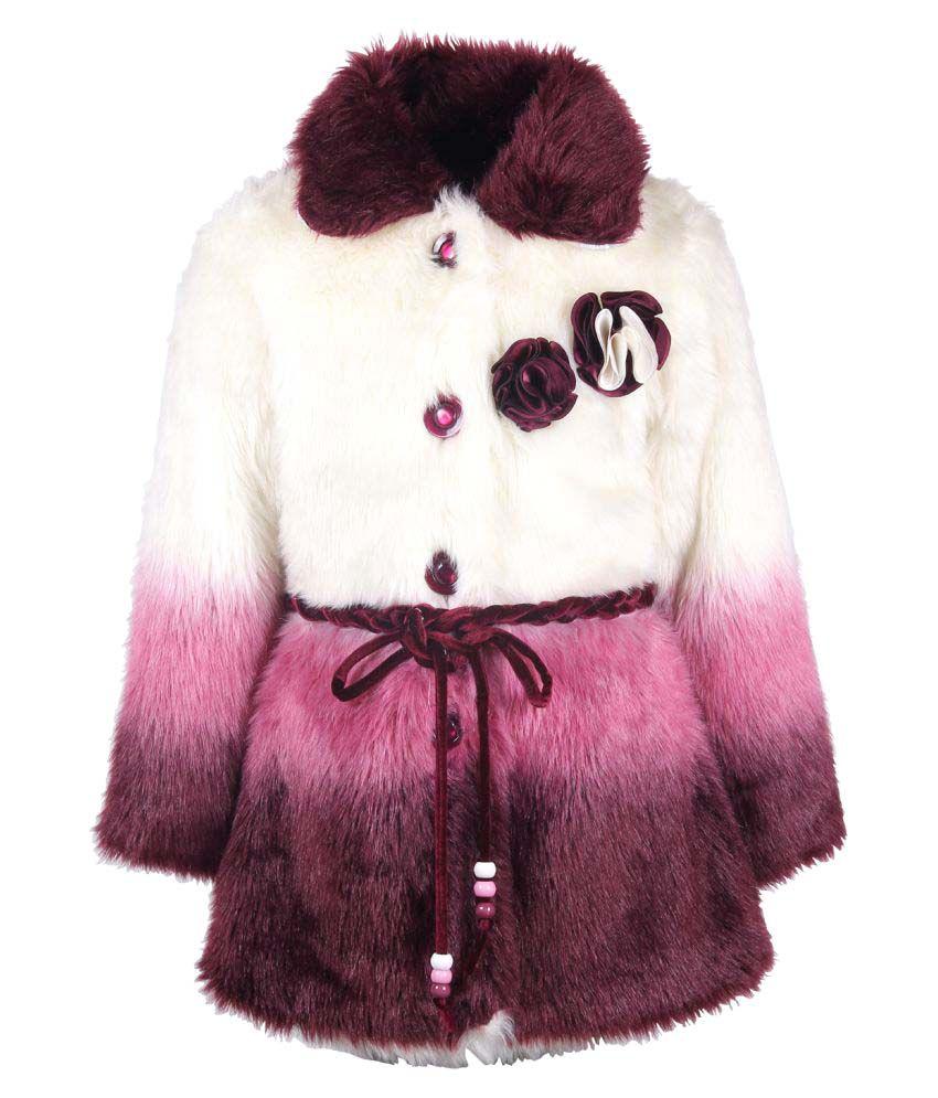 Cutecumber Partywear Winter Coat Jacket