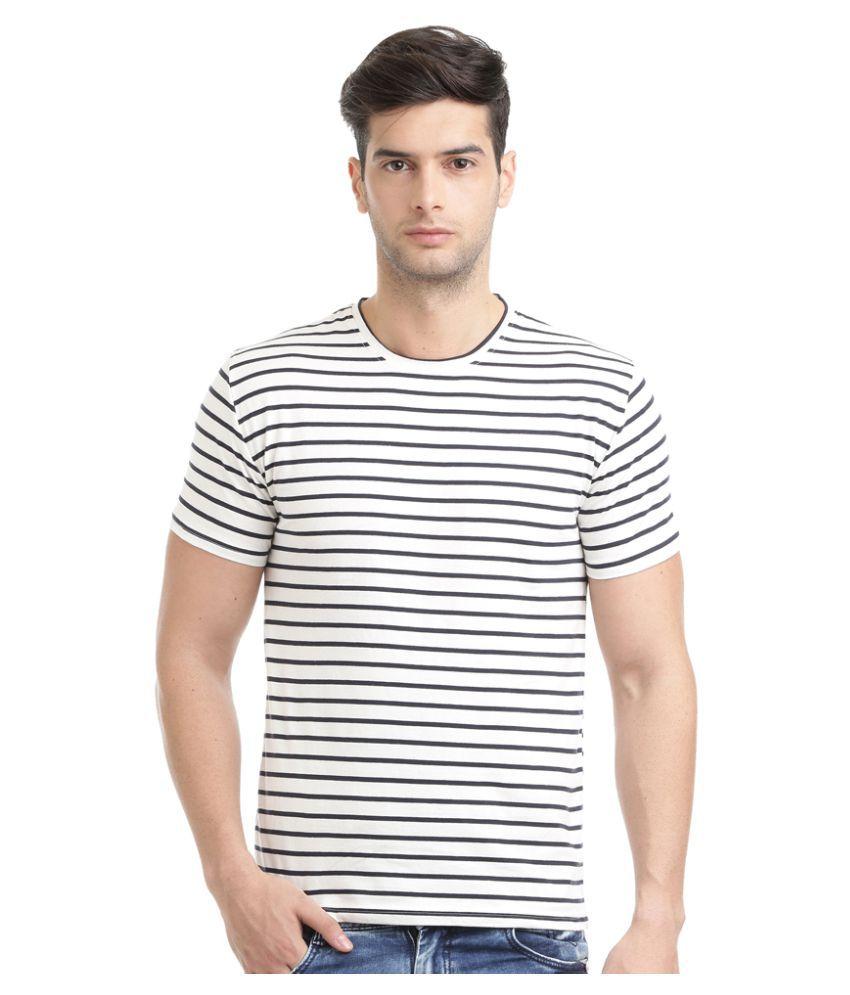 Hols White Round T-Shirt