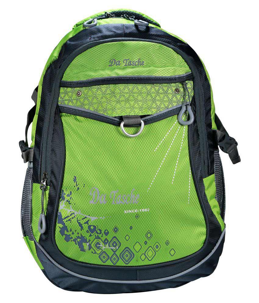 Da Tasche Green Backpack
