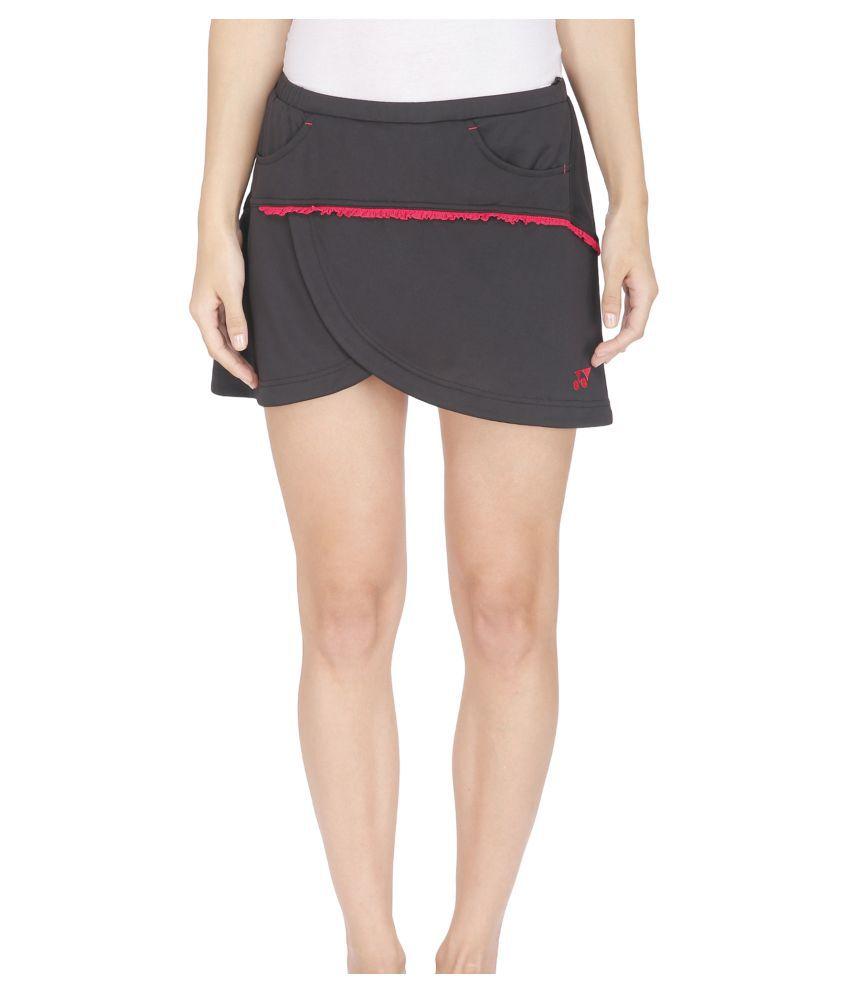 Yonex Black Badminton Skirt