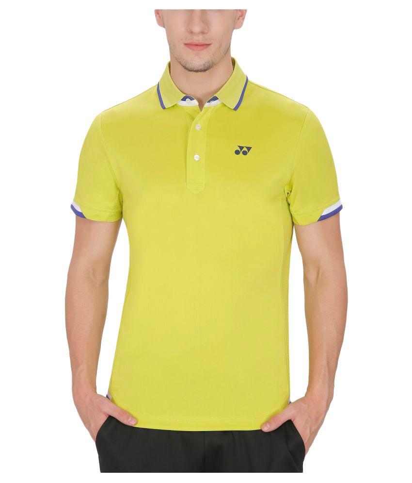 Yonex Lime Yellow Tshirt