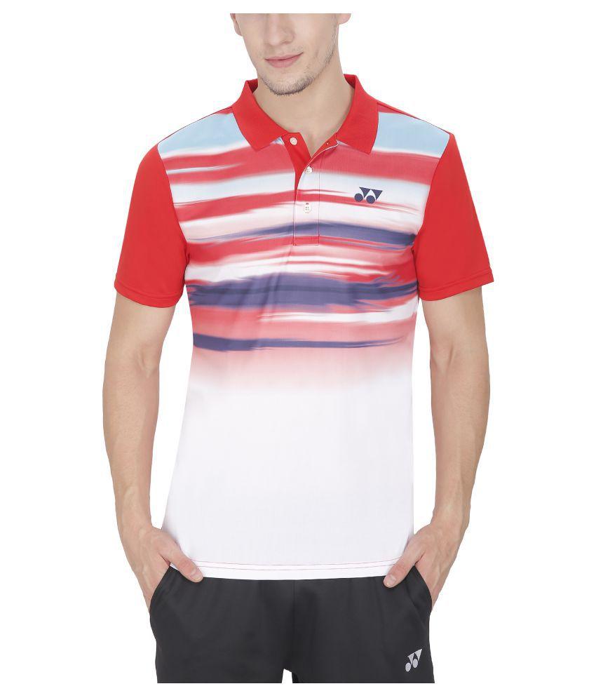 Yonex Red T-Shirt
