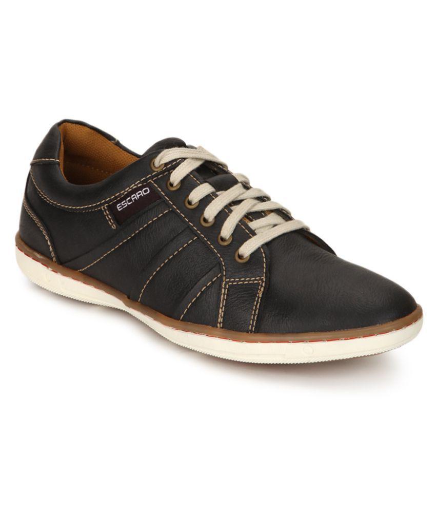 escaro lifestyle black casual shoes buy escaro lifestyle