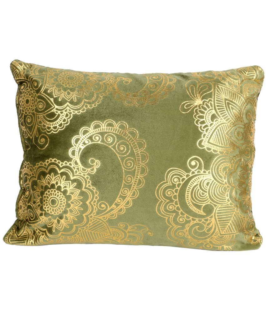 Living Essence Single Green Cushion